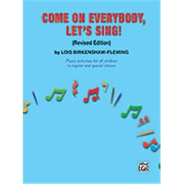 Alfred Come on Everybody- Let s Sing - Music cd (ALFRD48617)