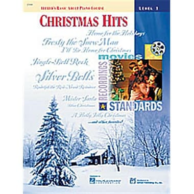 Alfred Basic Adult Piano Course- Christmas Hits Book 1 - Music Book (ALFRD40533)