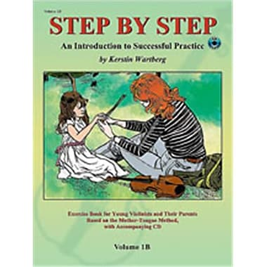 Alfred Step by Step 1B- An Introduction to Successful Practice for Violin - Music Book (ALFRD46636)