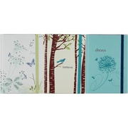 Cr Gibson Hard Cover Journal With Inspirational Design Pack Of 3 (JNSN69647)