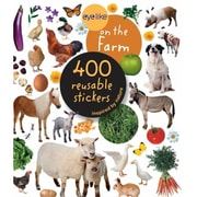 Workman Publishing Eyelike On the Farm 400 Reusable Stickers (GC17526)