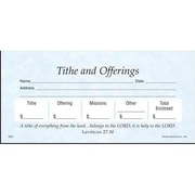 Americanchurch Offering envelope Tithes & Offering Stock Sets( ANCRD38602)