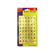 Bulk Buys Number Sticker Sheets on Blister Card - Pack of 48 (KOLIM23872)