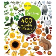 Workman Publishing Eyelike Seasons 400 Reusable Stickers (GC17528)