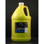 Rock Paint- Handy Art Little Masters Yellow 128Oz Washable Paint (EDRE35977)
