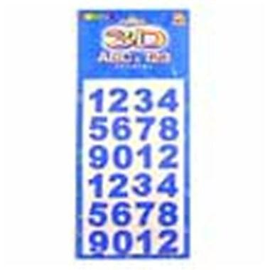 Bulk Savings Foam Number 2Asst Sizes Case Of 24 (DLR27848)