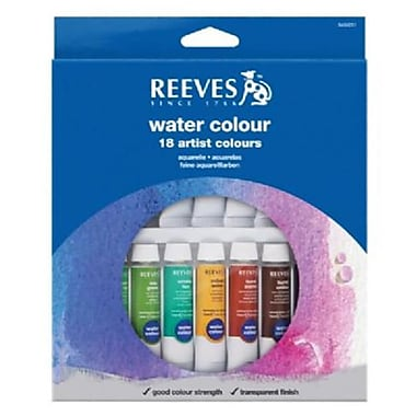 Reeves Watercolor Paint 18-Set (ALV18149)