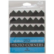Canson Archival Self-Adhesive Photo Corners Black (ALV26279)