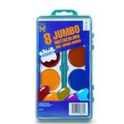 Bulk Buys 8ct. Jumbo Washable Watercolors - Case of 24 (DLRDY231832)