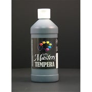 Rock Paint- Handy Art Little Masters Black 16Oz Tempera Paint (EDRE35926)