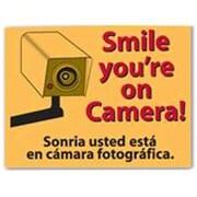 Centurion SIGNSMILE Smile You Are On Camera Sign (ORGL47509)