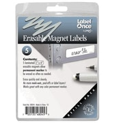 Jokari-US Erasable Magnet Labels Refill- 5 labels (JKRI063)