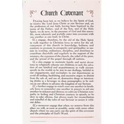 B & H Publishing Group Chart Church Covenant Wall Chart 35 x 55 (ANCRD33232)