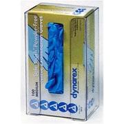 RackEm Racks 1-Box Vertical Plastic Glove Dispenser - Clear Plastic (HRZM110)