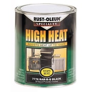 Rustoleum 1 Quart Black High Heat Bar-B-Que Oil-Based Protective Enamel Paint 77 (JNSN27228)