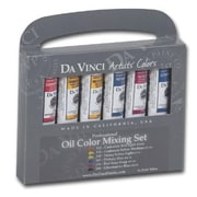 Da Vinci Oil Color Paint Warm and Cool 6-Color Set (ALV34360)