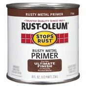 Rustoleum .50 Pint Rusty Metal Primer Protective Enamel Oil Base Paint (JNSN15682)