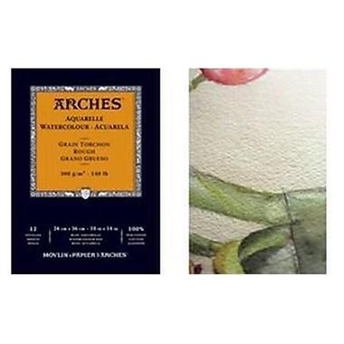 Canson Arches 9'' x 12'' Rough Watercolor Pad (ALV19022)