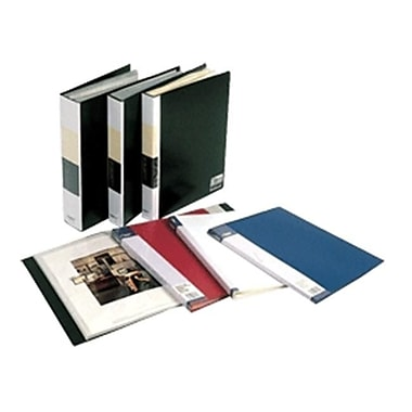 Filexec Presentation Book Black 6 Pg Pack Of 12( DGC948)