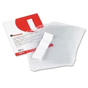 Universal Business Card 3-Ring Binder Pages 20 2 x 3-1/2 Cards per Page 5 Pages per Pack( AZRUNV26821)