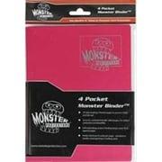 Monster Binders 4PHBK Binder 4 Pocket Monster Holofoil - Black (ACDD7137)