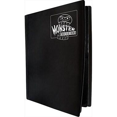 Monster Binders 4PMBK Binder 4 Pocket Monster - Matte Black (ACDD7140)