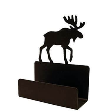 Village Wrought Iron Moose Business Card Holder( VW006)