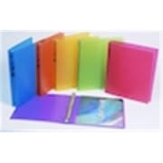 Filexec Products iFile Poly Ring Binder Frosted 2in Asst( DGC13830)