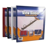 DDI Binder - View pocket - 3 - 1 in. rings - Asst. Colors Case Of 48 (DLRDY256945)