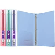 Bazic 1 in. Glitter Poly 3-Ring Binder with Pocket- Pack of 48 (BAZC323)