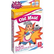 Carta Mundi Usa Carta Mundi Usa 1432 2 In 1 Card Games Old Maid & Memory (JNSN63251)