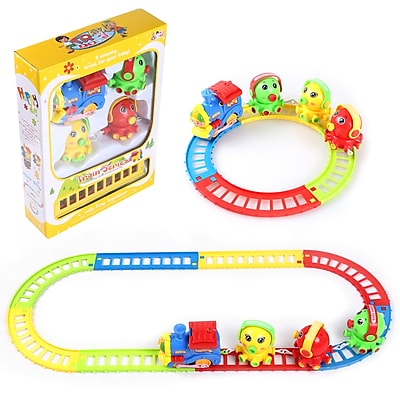BlueBlockFactory Musical Octopus Animal Friend and Train