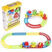 BlueBlockFactory Musical Octopus Animal Friend and Train and Track Play Set 3 to 10 years old