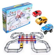 BlueBlockFactory Adventurous Car and Track Play Set 4 to 10 years old