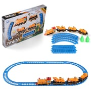 BlueBlockFactory Contruction Truck and Train Play Set