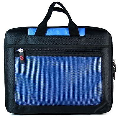 Vangoddy Mesh Nylon Laptop Sleeve for 17 Inch Laptops, Blue
