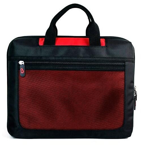 Vangoddy Mesh Nylon Laptop Sleeve for 17 Inch Laptops, Red