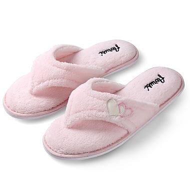 Aerusi Woman Splash Spa Slipper Home Pink Size 7 - 8