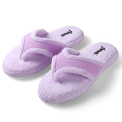Aerusi Woman Splash Spa Slipper Relax Home Lylic Size 6