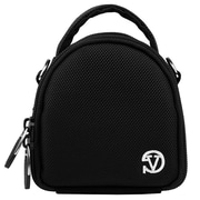 Vangoddy Mini Laurel Point and Shoot Camera Case Black