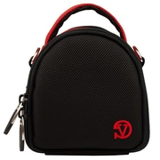 Vangoddy Mini Laurel Point and Shoot Camera Case Red