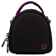 Vangoddy Mini Laurel Point and Shoot Camera Case Purple