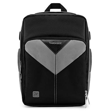 Vangoddy Sparta SLR DSLR Camera Backpack Black Grey