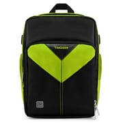 Vangoddy Sparta SLR DSLR Camera Backpack Black Green