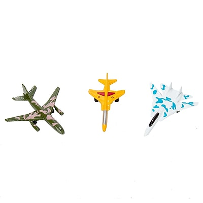 Blue Block Factory Fighter Jet Squad Die-Cast Metal Play Set