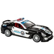 Blue Block Factory Remote Control Police Cruiser Car Black