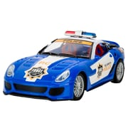 Blue Block Factory Remote Control Police Cruiser Car Blue