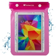 SumacLife Waterproof Pouch Case Pink For use with 7 - 8 Inch Tablets