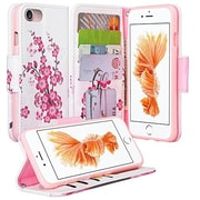 SumacLife Wallet Stand Case iPhone 7 Plus Cherry Blossom