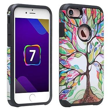 SumacLife Back Cover Case iPhone 7 7s Rainbow Tree